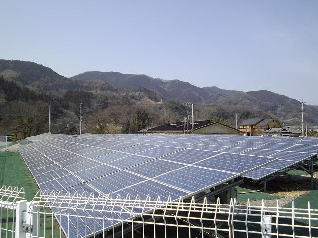 太陽光発電所の写真