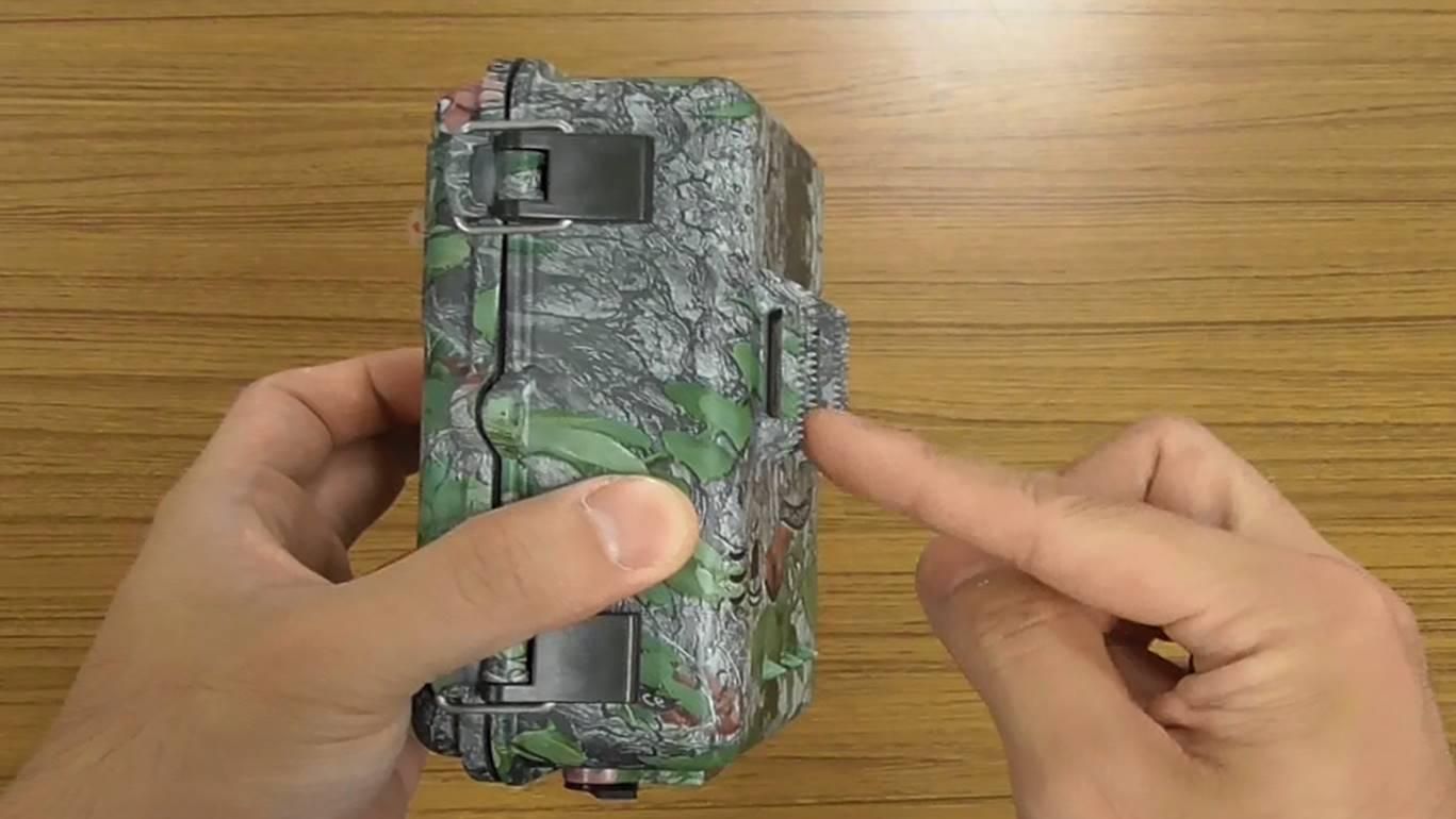 乾電池式防犯カメラのブログ写真②