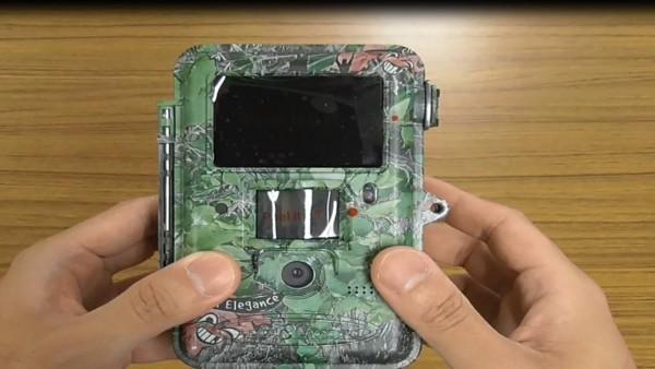 乾電池式防犯カメラのブログ写真⑪